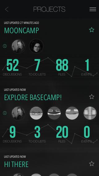 MoonCamp - Basecamp Client